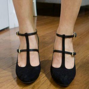 Cole Haan Block Heels (size 7) (black)